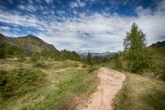 Berglandschaft 1 Stockfotografie