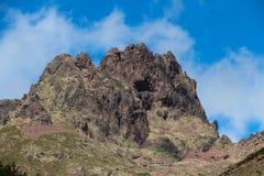 Berglandschaft, Corse, Frankreich Stockbild