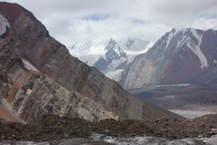 Berglandschaft. Das Dach der Welt Stockfoto