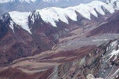 Berglandschaft. Das Dach der Welt Lizenzfreie Stockbilder