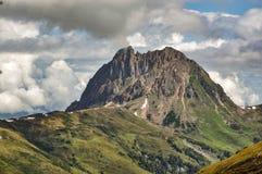 Berglandschaft in den österreichischen Alpen Stockfotografie