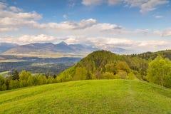 Berglandschaft in den Kamnik-Savinjaalpen Lizenzfreies Stockfoto