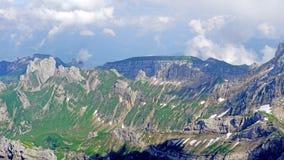 Berglandschaft in den Schweizer Alpen Lizenzfreies Stockbild