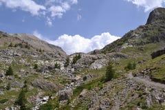 Berglandschaft in Frankreich Stockfotografie
