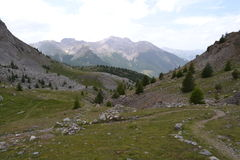 Berglandschaft in Frankreich Stockfotos