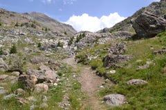 Berglandschaft in Frankreich Lizenzfreie Stockfotografie