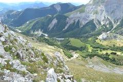 Berglandschaft in Frankreich Stockbilder