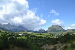 Berglandschaft in Frankreich Stockbild