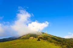 Berglandschaft in Hong Kong Lizenzfreies Stockbild