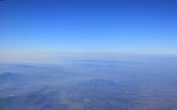 Berglandschaft im Norden von Thailand Lizenzfreie Stockfotos