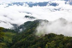 Berglandschaft in Nord-Thailand Lizenzfreie Stockfotos