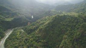 Berglandschaft in Philippinen, Luzon Lizenzfreie Stockfotos