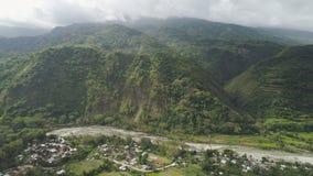 Berglandschaft in Philippinen, Luzon Lizenzfreies Stockfoto