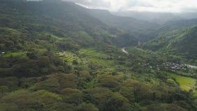 Berglandschaft in Philippinen, Luzon Lizenzfreie Stockfotografie