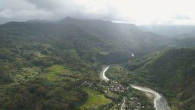 Berglandschaft in Philippinen, Luzon Stockfoto