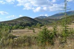 Berglandschaft in Süd-Frankreich Lizenzfreie Stockbilder