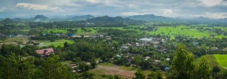 Berglandschaft in Thailand Stockbilder