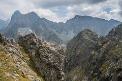 Berglandschaft von polnischen Tatra-Bergen lizenzfreies stockbild