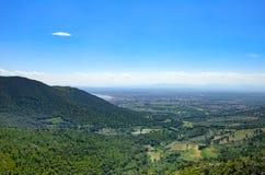 Berglandschaft von Rosen, Katalonien, Spanien lizenzfreie stockfotografie