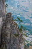 Berglandschaften Enshi Grand Canyon Lizenzfreie Stockfotografie