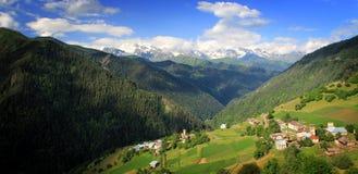 Berglandschap Stock Foto