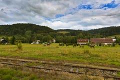 Berglandschap Royalty-vrije Stock Fotografie
