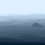Berglandschap Royalty-vrije Stock Afbeeldingen