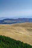 Berglandschap backgroud op daling De verticale bergherfst Royalty-vrije Stock Afbeeldingen