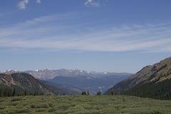 Berglandschap, Colorado Royalty-vrije Stock Afbeeldingen