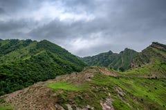 Berglandschap in Dagestan Royalty-vrije Stock Fotografie