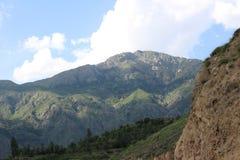 Berglandschap in haripurhazara royalty-vrije stock afbeeldingen