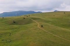 Berglandschap in het noorden van Azerbeidzjan Royalty-vrije Stock Foto