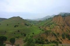 Berglandschap in Khchmas-district Stock Foto's