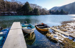 Berglandschap in Nikko, Japan Stock Afbeelding