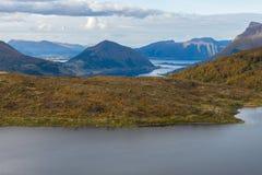 Berglandschap, Noorwegen Royalty-vrije Stock Afbeelding