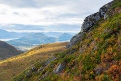 Berglandschap, Noorwegen Stock Afbeeldingen