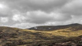 Berglandschap in Noorwegen stock afbeeldingen