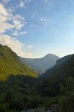 Berglandschap, Orsomarso Royalty-vrije Stock Foto's