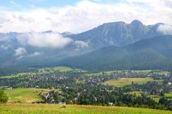 Berglandschap (Tatras) Stock Foto