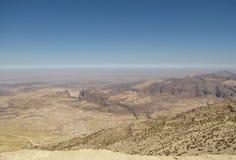 Berglandschap, woestijnplateau royalty-vrije stock foto