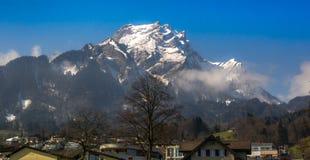 Berglandschap Zwitserland stock foto
