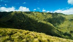 Berglandschappen stock foto