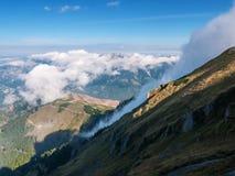 Berglandskap, Österrike Arkivfoto