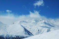 berglandskap Arkivfoto