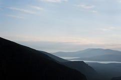 Berglandskap. Royaltyfria Foton
