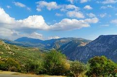 Berglandskap. Fotografering för Bildbyråer