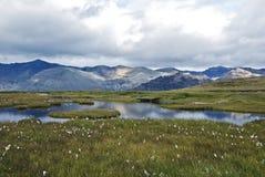 Berglandskap Royaltyfria Foton