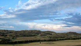 Berglandskap Fotografering för Bildbyråer