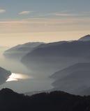 Berglandskap Royaltyfri Fotografi