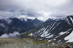 Berglandskap Arkivbilder